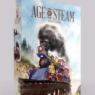 Age of Steam revient en édition Deluxe
