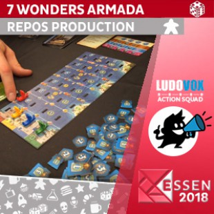 Essen 2018 – 7 Wonders Armada – Repos Production