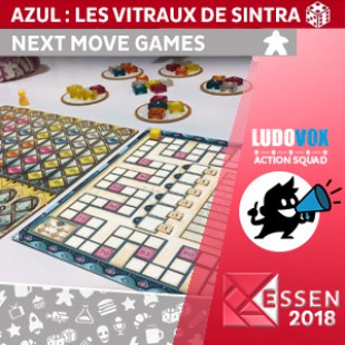 Essen 2018 – Azul – Stained Glass of Sintra – Next Move Games