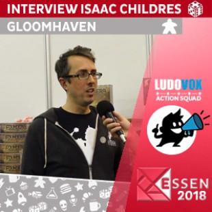Essen 2018 – Interview Isaac Childres – VOSTFR