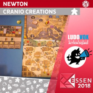 Essen 2018 – Newton – Cranio Creations