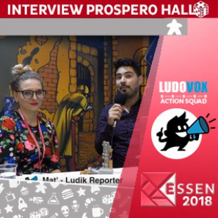 Essen 2018 – Interview Prospero Hall – Kero – VOSTFR