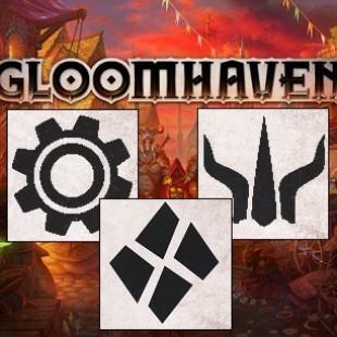 Introduction aux classes de départ de Gloomhaven, 1ère partie