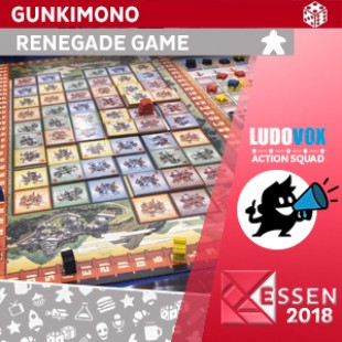 Essen 2018 – Gunkimono – Renegade Game Studios