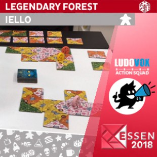 Essen 2018 – Legendary Forest – IELLO