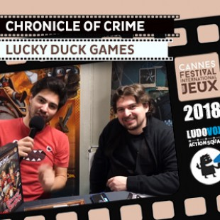 FIJ 2018 – Chronicle of crime  – Lucky Duck Games