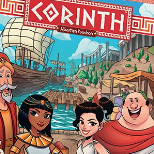 Corinth : le roll and write qui va vous rendre chèvre