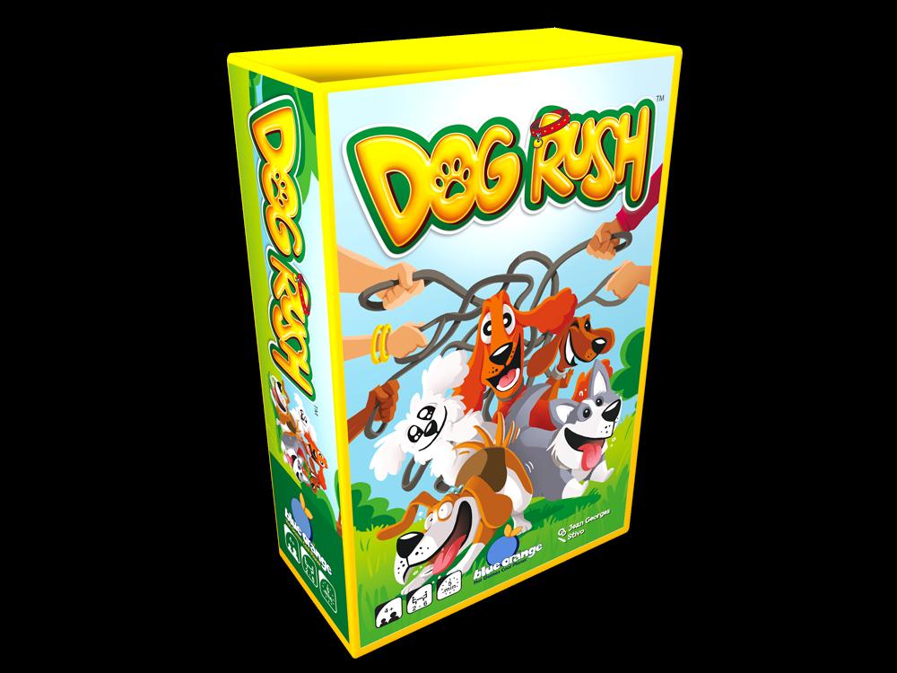 DOG RUSH jeu blue orange