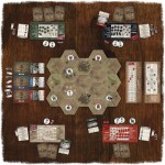 Frontier Wars, the board game jeu