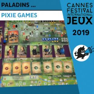 FIJ 2019 – Paladins des Royaumes de l'Ouest – Pixie Games