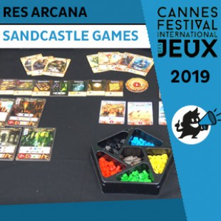 FIJ 2019 – Res Arcana – Sand Castle Games
