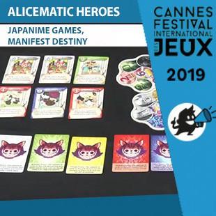 FIJ 2019 – Alicematic Heroes – Japanime Games & Manifest Destiny