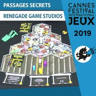 FIJ 2019 – Passages secrets – Renegade Game Studios