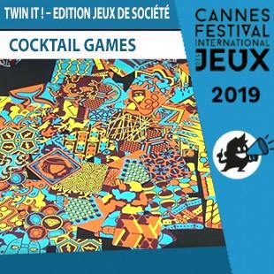 FIJ 2019 – Twin It! : Edition Jeux de société – Cocktail Games