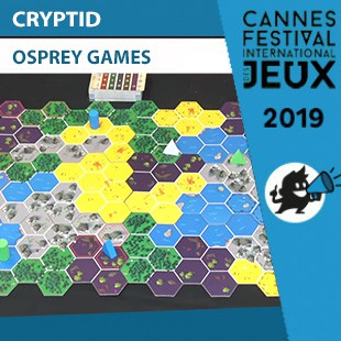FIJ 2019 – Cryptid – Osprey Games
