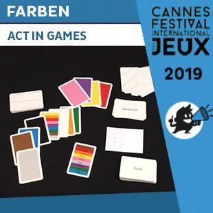FIJ 2019 – Farben – Act in Games