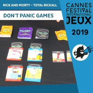 FIJ 2019 – Rick and Morty – Total Rickall – Don't Panic Games