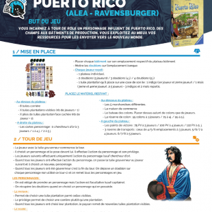 Règle Express : fiche résumé Puerto Rico