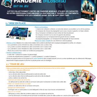 Règle Express : fiche résumé Pandemic