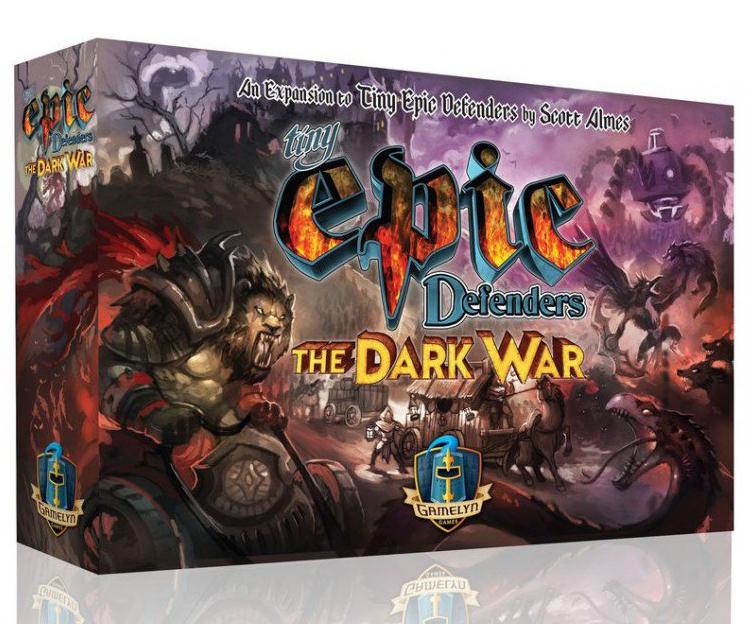 Tiny Epic Defenders The Dark War-Couv-Jeu de société-Ludovox