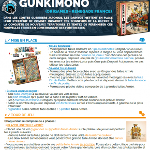Règle express : fiche résumé Gunkimono
