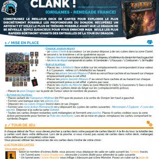 Règle express : fiche résumé Clank
