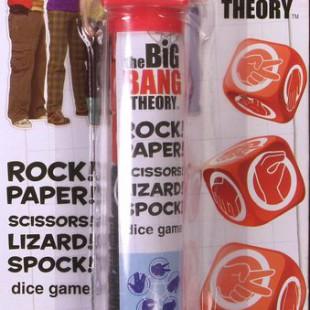 The Big Bang Theory: Rock! Paper! Scissors! Lizard! Spock! Dice Game