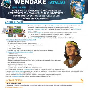 Règle express : fiche résumé Wendake