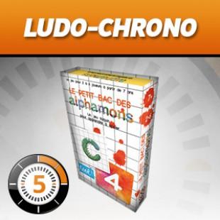 LUDOCHRONO – Alphamons : le petit bac des alphamons
