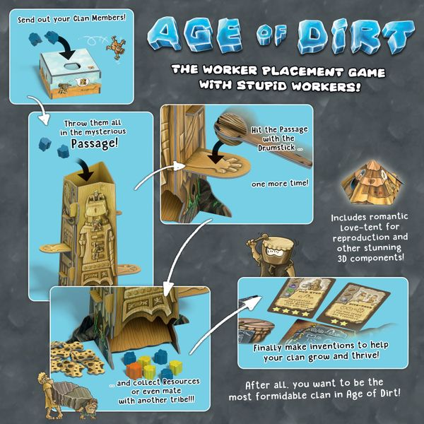 Age of Dirt A Game of Uncivilization jeu