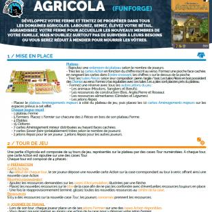Règle express : Agricola