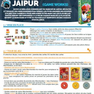 Règle express : fiche résumé Jaipur