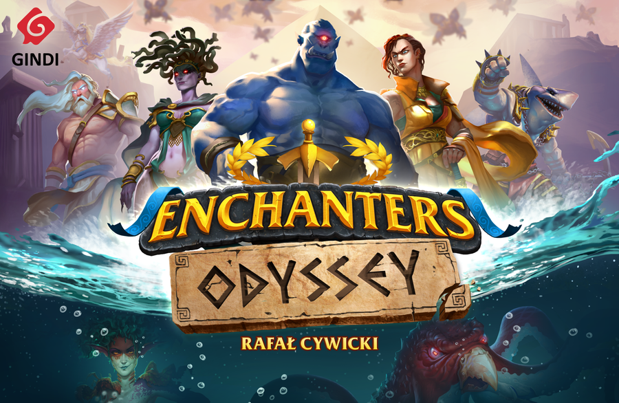 Enchanters Odyssey cover jeu