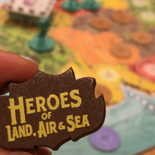 Heroes of Land, Air & Sea, le 4X funky