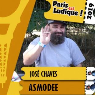 Paris Est Ludique 2019 – José Chaves – Asmodée