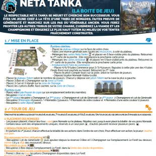 Règle express : fiche résumé Neta Tanka