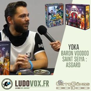 Octogones 2019 – Actu de Yoka :  Saint Seiya extension Asgard | Baron Voodoo