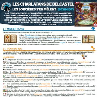 Règle express : fiche résumé Les Charlatans de Belcastel: Les Sorcières s'en Mêlent