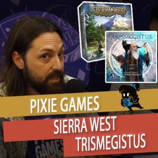 Essen 2019 – Sierra West et Trismegistus – Pixie Games